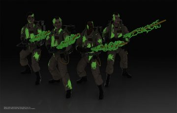 Ghostbusters Glowing Slimed Action Figures