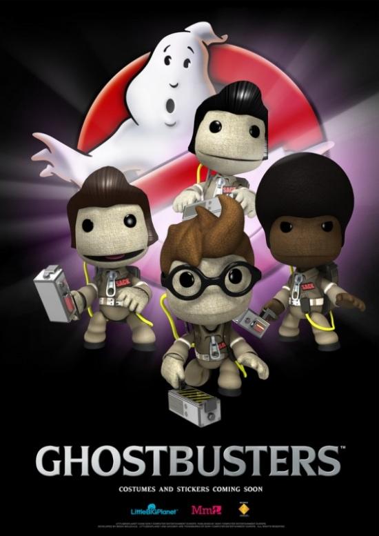 ghostbusters littlebigplanet
