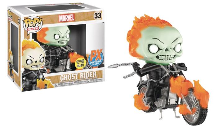 Ghost Rider Funko POP Ride