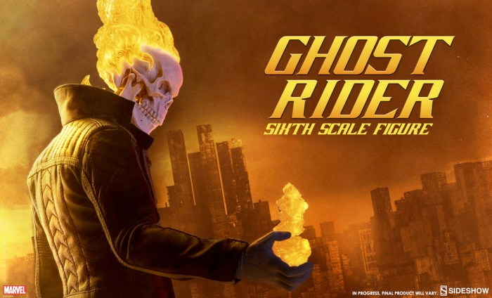 Sideshow Ghost Rider Figure
