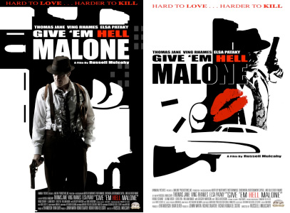 give em hell malone poster