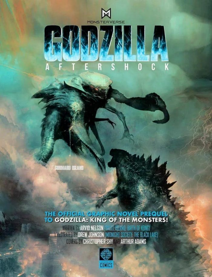 Godzilla King of the Monsters Comic Prequel