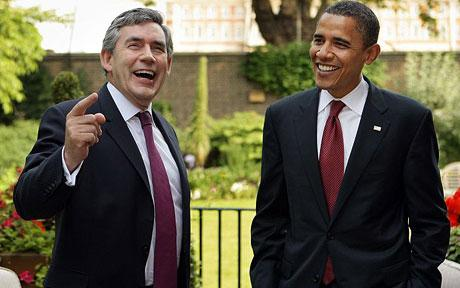 gordon brown and obama special relationship bank