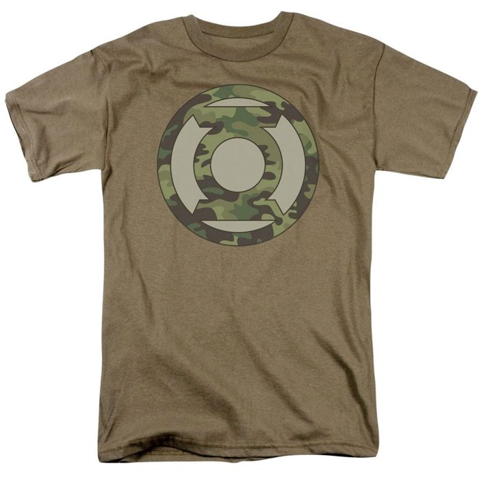 Green Lantern Camoflage Shirt