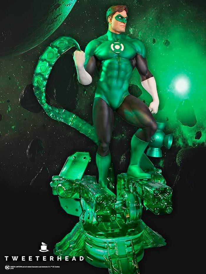 Green Lantern Tweeterhead Maquette
