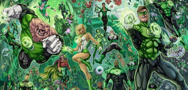 green lantern corps ile ilgili görsel sonucu