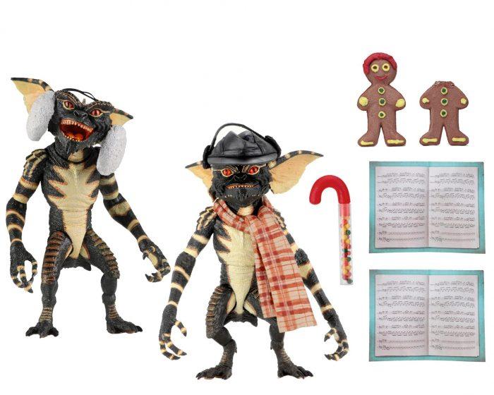 Christmas Caroling Gremlins Action Figures