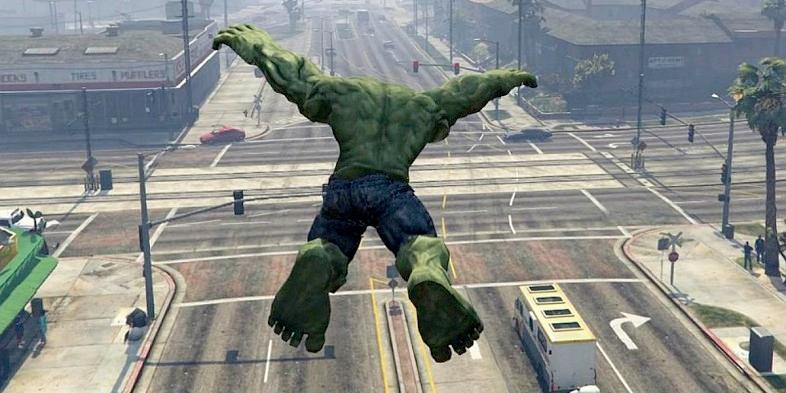 Grand Theft Auto V Hulk