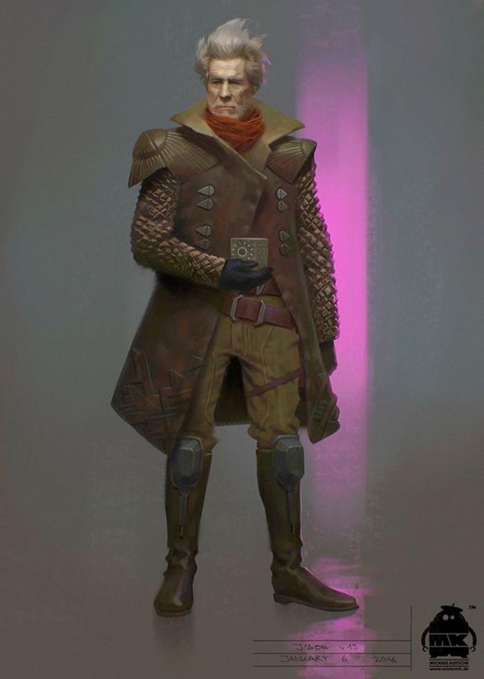 Guardians of the Galaxy Vol. 2 Concept Art - Ego - John Hurt