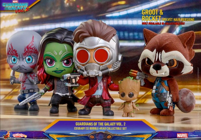 Guardians of the Galaxy 2 Cosbaby Figures