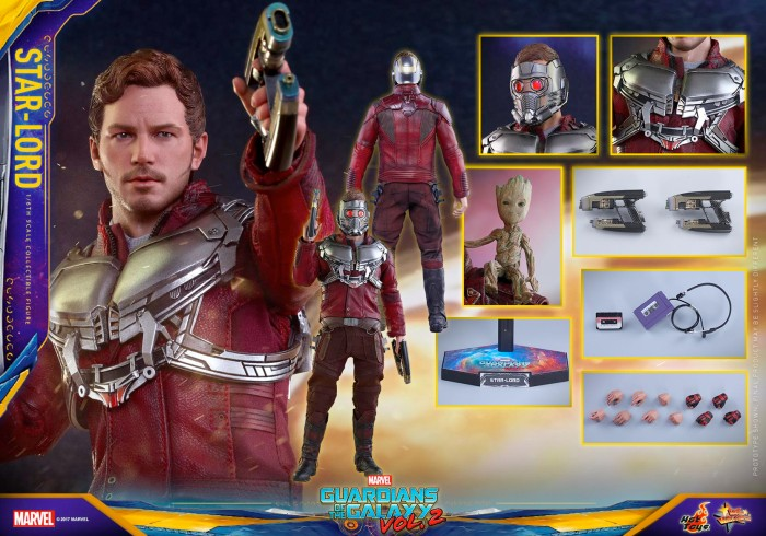 Guardians of the Galaxy 2 - Hot Toys Star-Lord Figure
