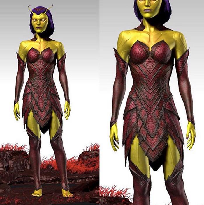 Guardians of the Galaxy 2 Mantis Concept Art