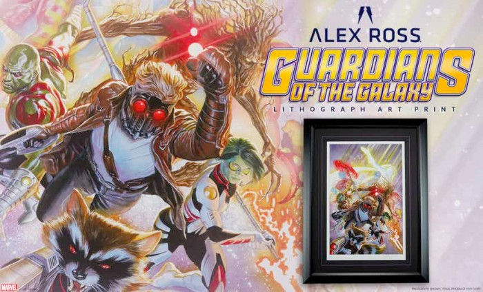 Guardians of the Galaxy - Alex Ross Lithograph