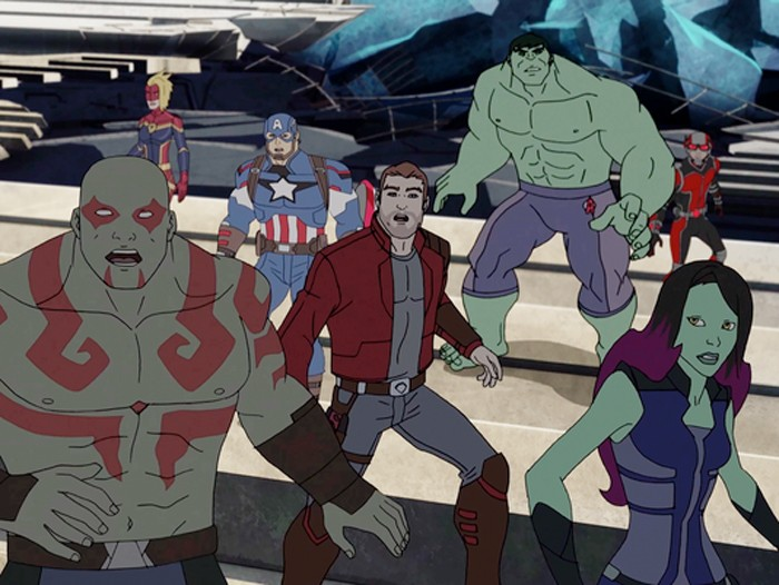Guardians of the Galaxy and The Avengers Animated Series