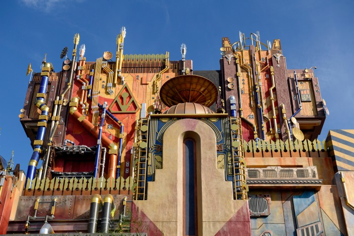 Guardians of the Galaxy Ride - The Collector's Fortress