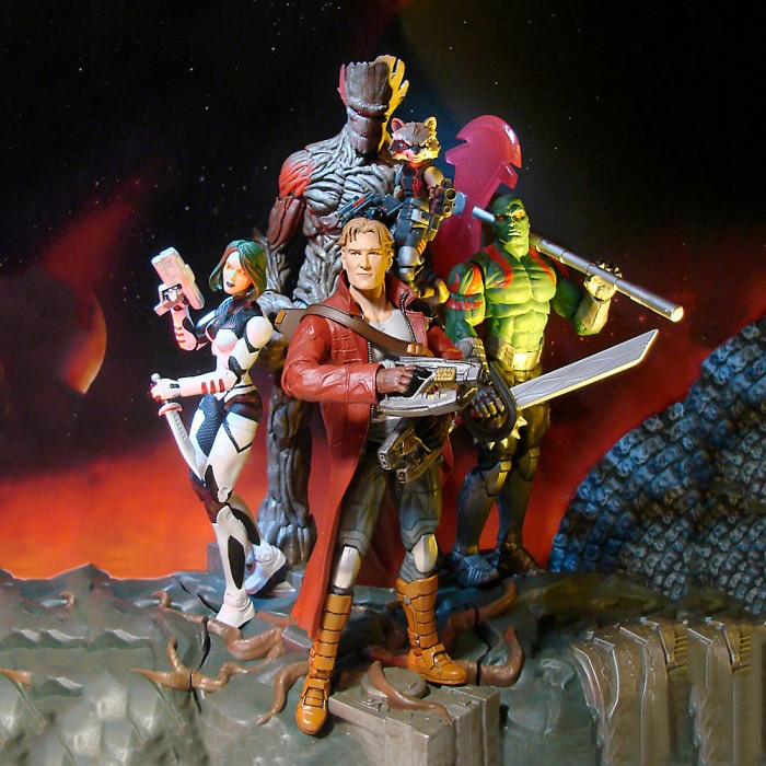 Guardians of the Galaxy Comic Series Marvel Legends Figures