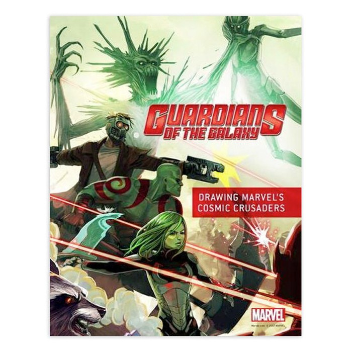 Guardians of the Galaxy Drawing Book