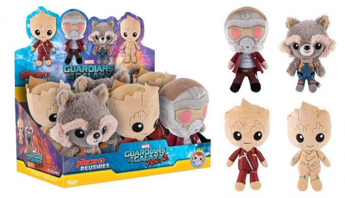 Guardians of the Galaxy 2 Hero Plushies
