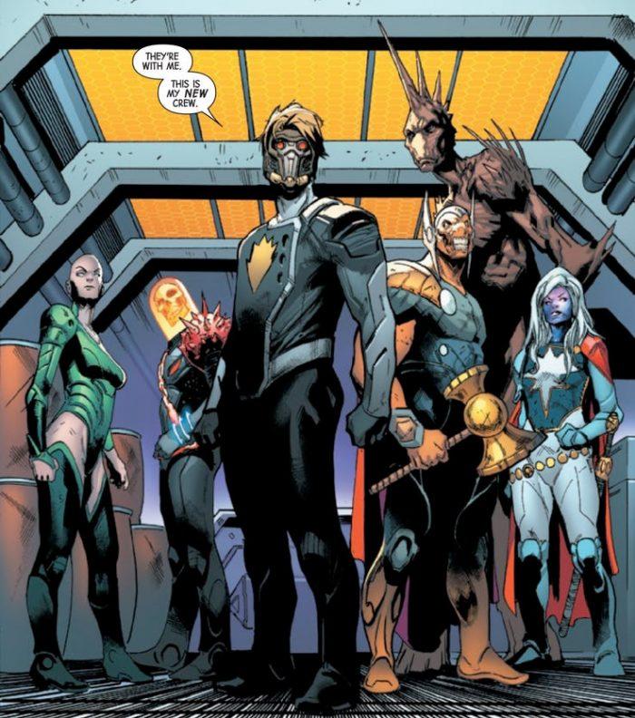 Guardians of the Galaxy - New Crew - Marvel Comics