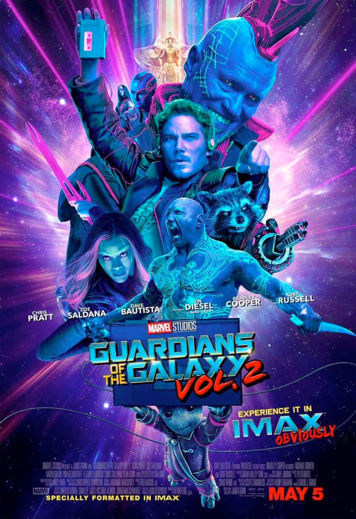 Guardians of the Galaxy 2 IMAX Poster