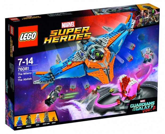 Guardians of the Galaxy 2 LEGO Set