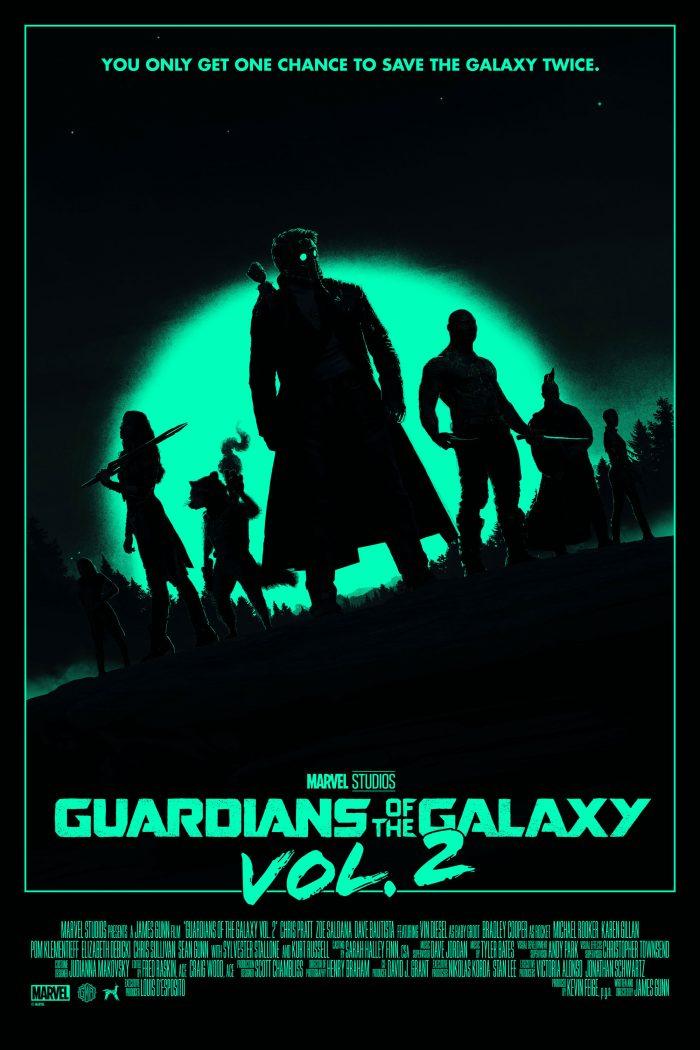 Matt Ferguson Guardians of the Galaxy 2 Print