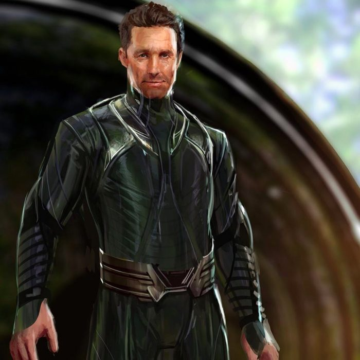 Guardians of the Galaxy 2 Concept Art - Matthew McConaughey as Ego