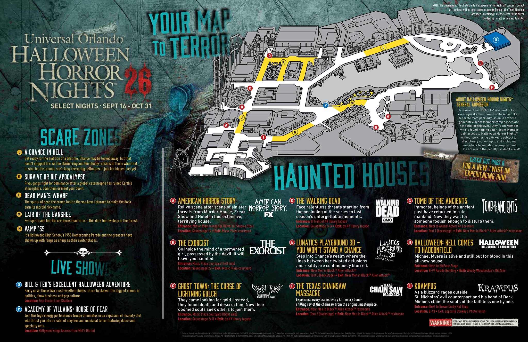 theme park bits: eli roth comes to halloween horror nights, an never