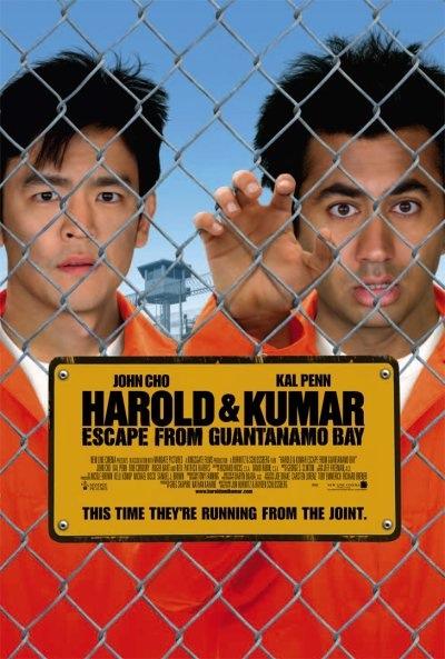 Harold & Kumar Escape From Guantanamo Bay Movie Poster