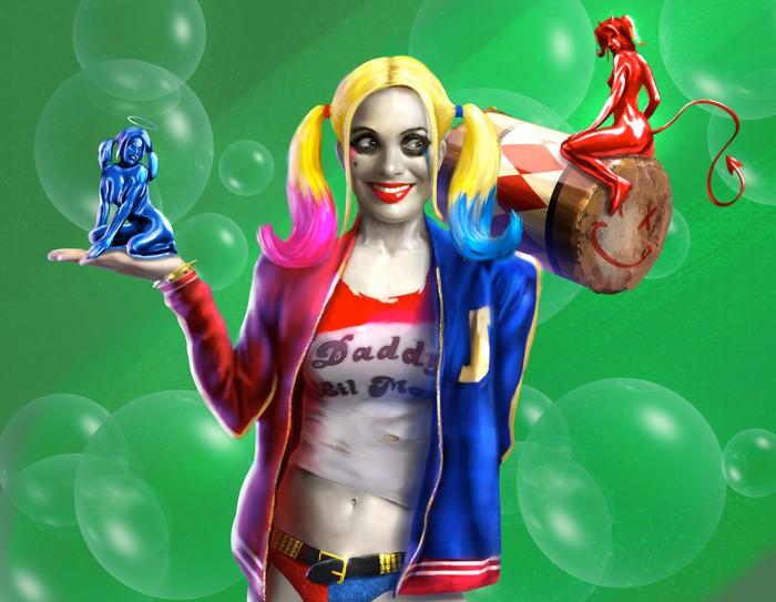 Harley Quinn Alternate Design