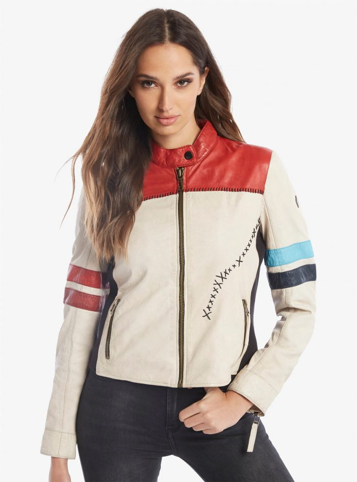 Harley Quinn - Daddy's Little Monster Leather Jacket