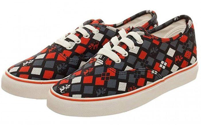 Harley Quinn Deck Shoes
