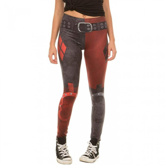 Batman Arkham City - Harley Quinn Leggings