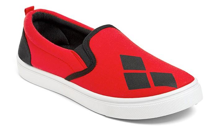 Harley Quinn Slip-On Shoe
