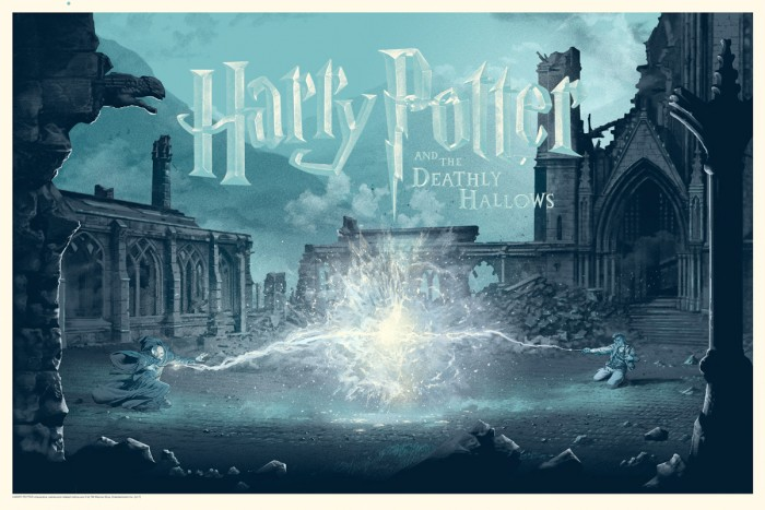 Stan & Vince - Dark Hall Mansion Harry Potter and the Deathly Hallows Print