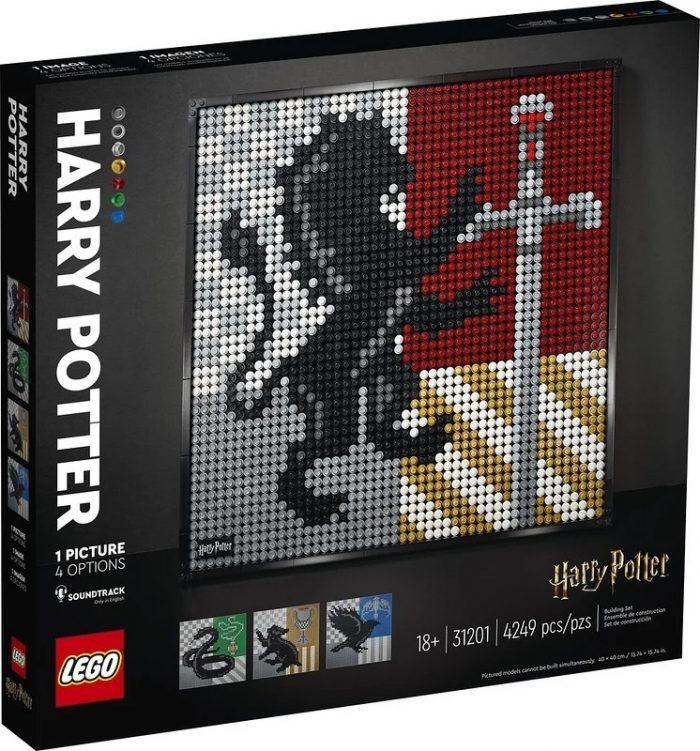 Harry Potter LEGO Art