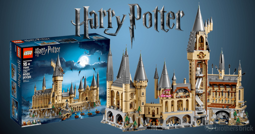 New Harry Potter Lego Hogwarts Is The Second Largest Set Ever Film