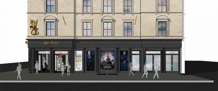 Harry Potter Store Concept Art