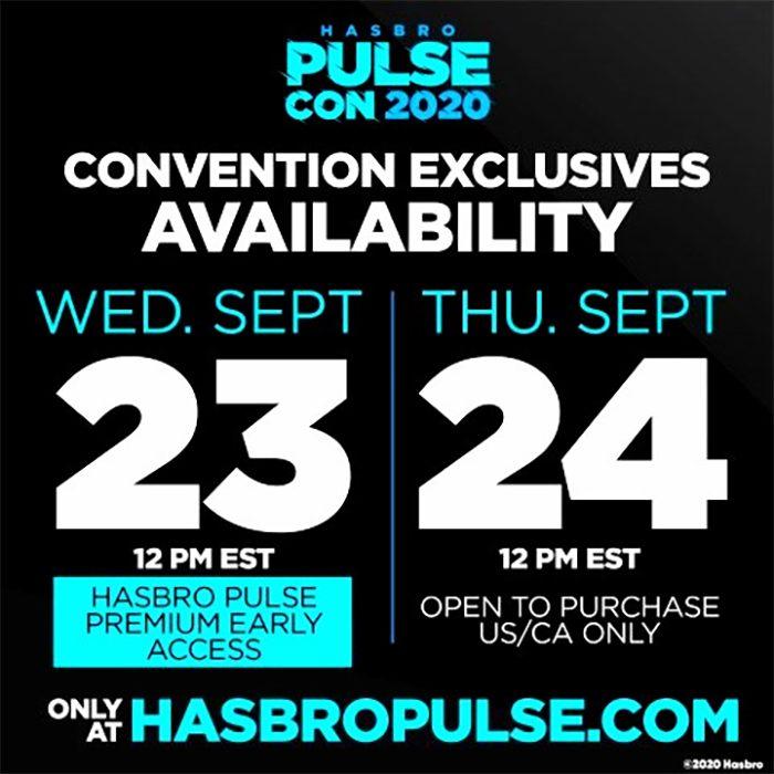 Hasbro PulseCon Exclusives