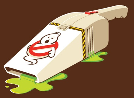 Cool Stuff: Ghostbusters-like Mini Vac T-Shirt