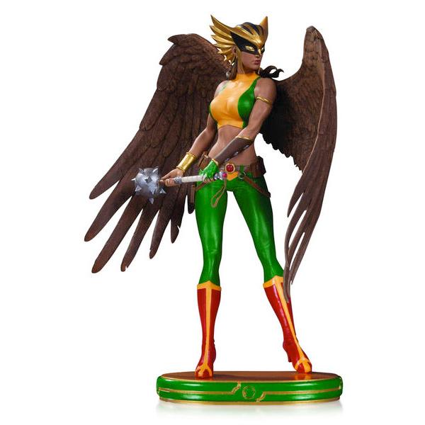 Hawkgirl Statue