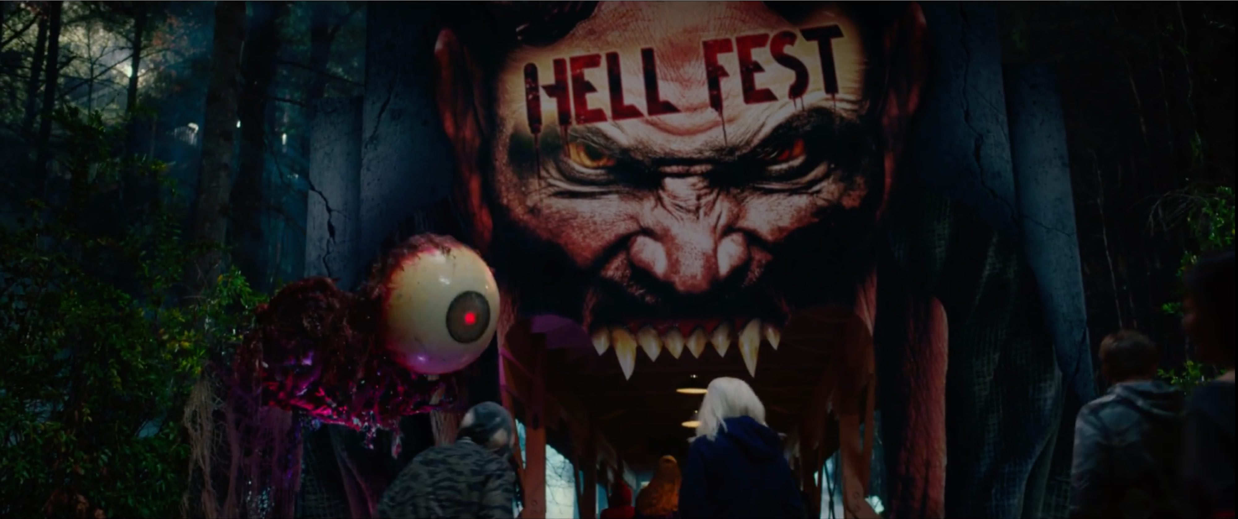 hell fest trailer a horror movie set at a halloween horror nights type event updated film
