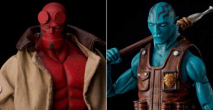 Hellboy 1000 Toys Figures