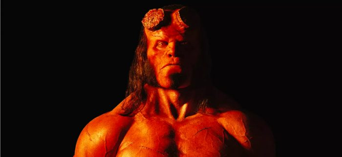 'Hellboy' Poster Offers Fiery New Look at David Harbour in Character