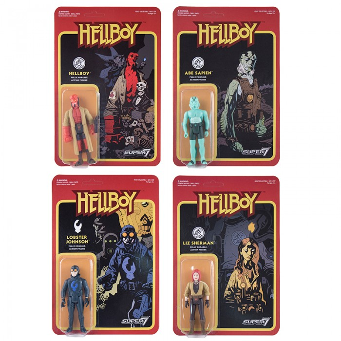 Hellboy ReAction Figures