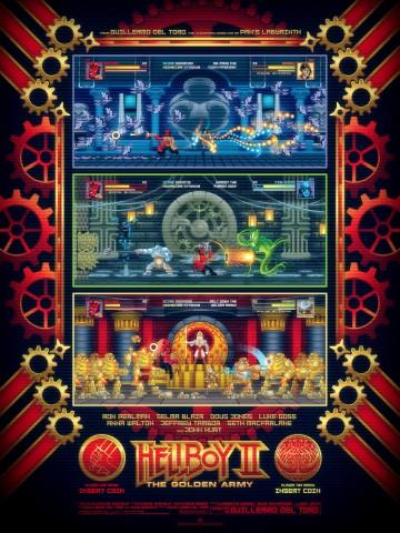 Josh Gilbert hellboy 2 video game