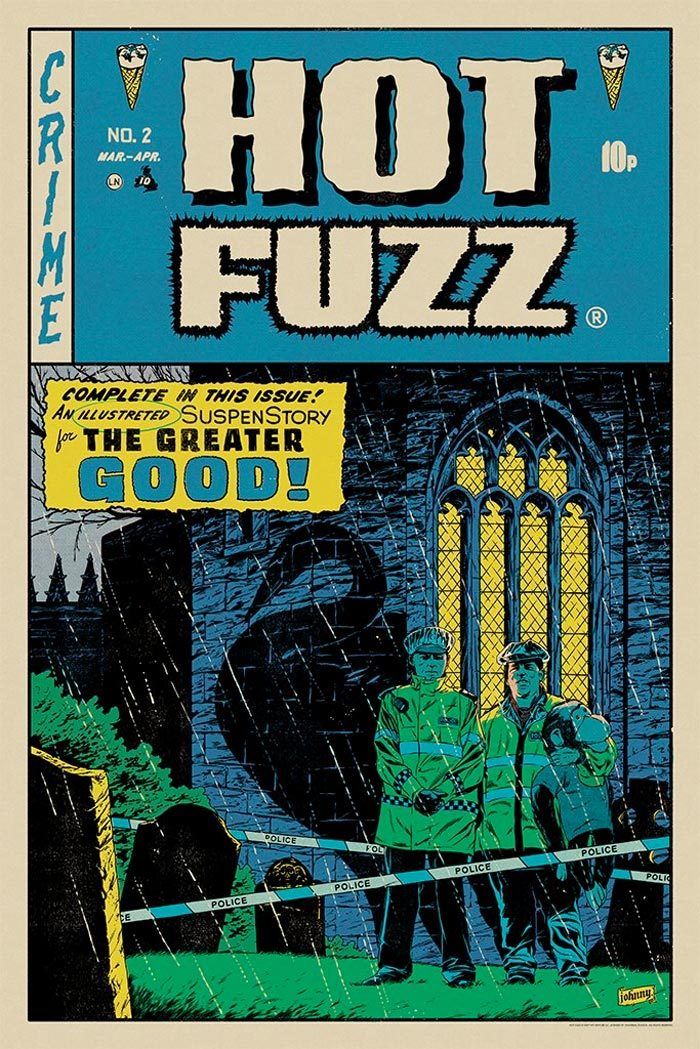 Mondo Cornetto Trilogy Prints - Hot Fuzz