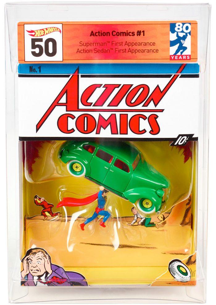 Hot Wheels Action Comics #1
