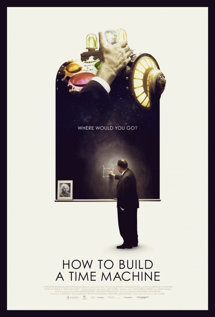 how to build a time machine trailer