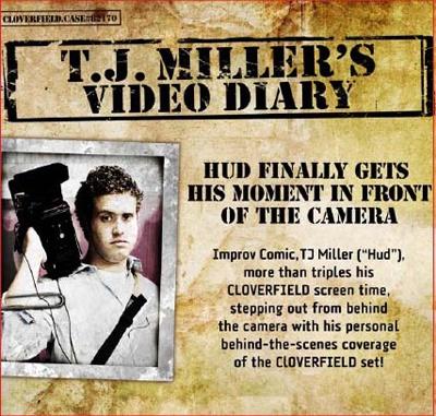 TJ Miller's Diary